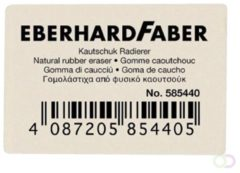 Eberhard Faber Gum EFA voor potlood wit - doos à 40st.