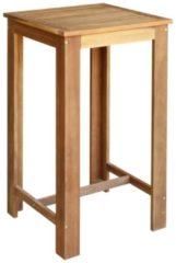 Bruine VidaXL Bartafel 60x60x105 cm massief acaciahout