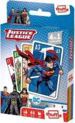 Shuffle Kaartspel 4-in-1 Justice League Karton 32-delig
