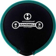 Zwarte Hyperwear SandBell 3 kg