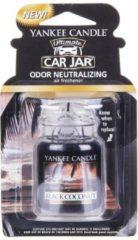 Zwarte Yankee Candle - Black Coconut Classic Car Jar ( černý kokos ) - Papírová visačka do auta