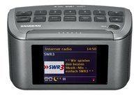 Sangean RCR-11 WF Internet Uhrenradio DAB+ / UKW-RDS m. AUX-In u. USB A, Schwarz