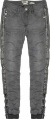 Indian Blue Jeans Indian blue zachte grijze superstretch super skinny jeans - Maat 146