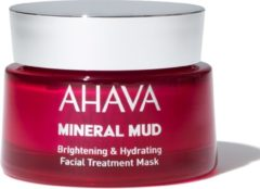 AHAVA Mineral Mud Brightening & Hydrating Facial Treatment Mask Masker 50 ml