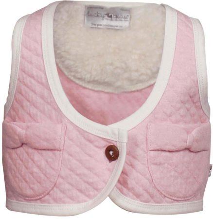 Afbeelding van Roze Ducky Beau Meisjesgilet - Baby Pink - Maat 68