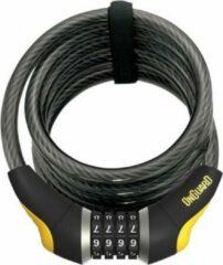 Onguard kabelslot Dobermann Combo 185 cm x 12 mm zwart