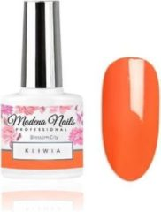 Oranje Modena Nails Gellak Blossom City - Kliwia 7,3ml.
