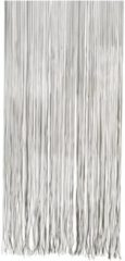Vliegengordijn/deurgordijn PVC twist zwart - 90 x 220 cm - Insectenwerende vliegengordijnen