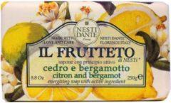 Nesti Dante Il Frutteto Citron & Bergamot zeep 250 gram