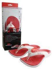 Rode Zori slippers red maat 43