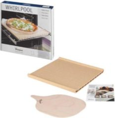Pizza steen voor oven 350 x 345 x 41.5 mm pizzasteen universeel Whirlpool