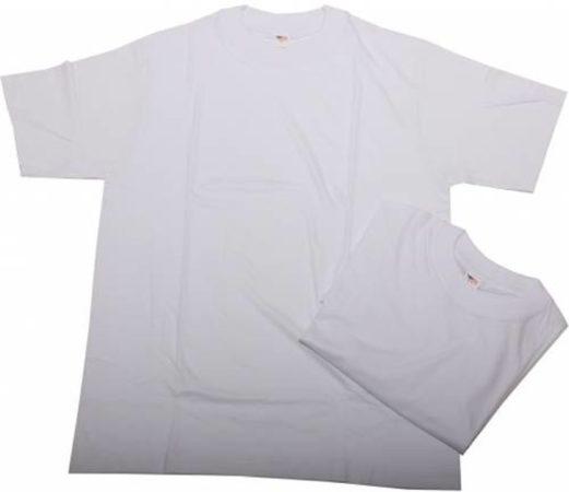 Afbeelding van CECEBA American T-shirt - Basic - ronde hals - wit - 3XL