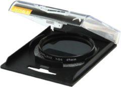 Zwarte CamLink CL-49ND4 Neutrale-opaciteitsfilter voor camera's 49mm cameralensfilter