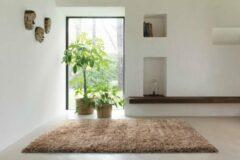 OSTA Rhapsody – Vloerkleed – Tapijt – geweven – wol – eco – duurzaam - hoogpolig - modern - Lichtbruin – 160x230