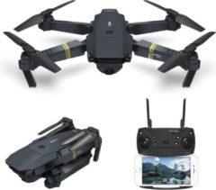 Zwarte DrPhone Mini Wifi Drone – 720P – Groothoek Camera – Vouwbaar / Compact – Quadcopter