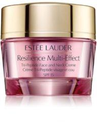 Estée Lauder Estèe Lauder Resilience Multi-Effect Tri-Peptide Face and Neck Creme SPF15 - normale/gecombineerde huid - dagcrème