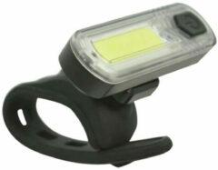 Dresco LED COB Koplamp Fiets - Oplaadbaar - Zwart