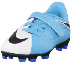 Fußballschuhe Jr Hypervenom Phade III (V) FG mit Klettverschluss 852589-104 Nike White/Black-Photo Blue-Chlorine Blue