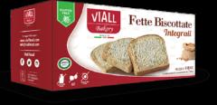 GAIA SpA Viall Fette Biscottate Integrali Senza Glutine 200g