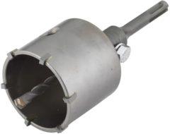 Wolfcraft Holboorkrans HM met adapter SDS-schacht, hamer slag vast, snijdiepte 46 mm artikel nr. 5483000
