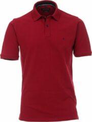Bordeauxrode Casa Moda Comfort Fit poloshirt stretch - bordeaux rood - Maat: XXL