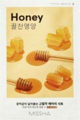 Missha - Airy Fit Sheet Mask (Honey) Gezichtsmasker