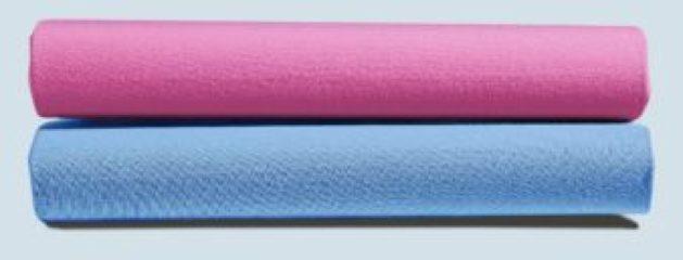 Azuurblauwe Formesse Bella Donna Hoeslaken Jersey - 90x190-100x220 - azuur
