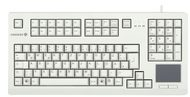 CHERRY Advanced Performance Line TouchBoard G80-11900 - Tastatur - Deutsch - Hellgrau