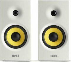 2.0 RMS 24W Multimedia luidspreker Bluetooth 5.0 2x Aux in RMS 2x 12W Edifier R1080BT Wit
