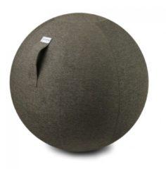 Zitbal Stov - Greige - 100% polyester - Ø70-75 - Vluv