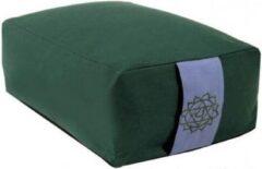 Yogi & Yogini Meditatiekussen Groen 4e chakra - 38x28x15