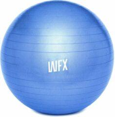 #DoYourFitness Gymnastiek Bal - »Orion« - zitbal en fitness bal ter ondersteuning van lichaamshouding, coördinatie en balans - Maat : 85 cm - blauw