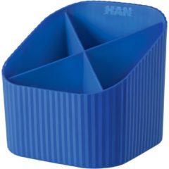 Pennenhouder X-Loop Donkerblauw