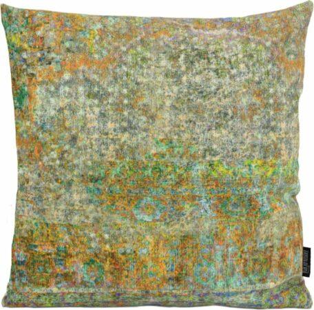 Afbeelding van Groene Gek op Kussens! Velvet Tanger #1 Kussenhoes | Velours / Fluweel - Polyester | 45 x 45 cm