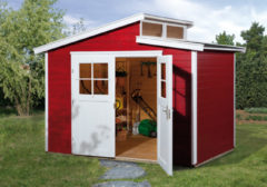 Rode WEKA | Tuinhuis 226 | 295 x 209 cm | Zweeds rood