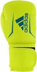 Adidas Speed 50 bokshandschoenen geel/blauw maat 14 oz