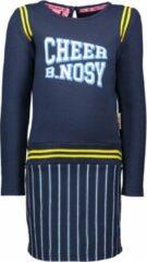 B.Nosy Meisjes jurk - ink blauw - Maat 92