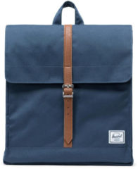 Herschel Supply Co. City Mid-Volume Rugzak navy/tan synthetic leather