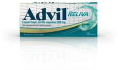 Advil Advil reliva liquid caps 200 10 Capsules