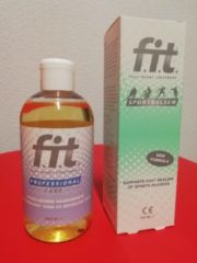 F.I.T. Masseur set - F.I.T. Sportbalsem 100ml & F.I.T. Massageolie 250ml