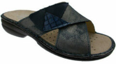 Blauwe Slippers Calzaturificio Loren LOM2657bl