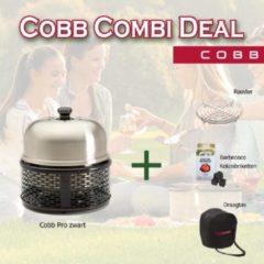 Zwarte Cobb Pro Combi Deal - Rooster + Cobblestones