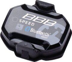 Zwarte BBB cycling BBB BCP-65 SmartSpeed Snelheidssensor - Bluetooth 4.0/ANT+ compatibel