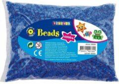 Playbox midi strijkkralen blauw 6000 stuks, strijkparels