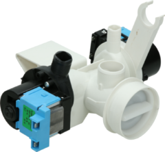Aeg, Aeg electrolux, Electrolux, Fors, Husqvarna, Wyss, Zanker Pumpeneinheit Ablaufpumpe + Umwälzpumpe für Waschmaschinen 1105374027