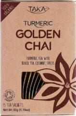 TAKA Turmeric / Kurkuma-thee met Chai Biologisch