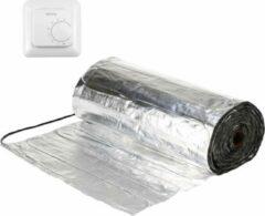 Warmup Set 1m² Verwarmingsfolie + Gratis WARMUP MSTAT Aan/uit Thermostaat | oa laminaat, PVC | 15jr Garantie | elektrische vloerverwarming