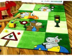 Lifestyle Kinderteppich Ampel Grün in 3 Größen Pergamon Grün