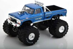 "Ford F-250 ""Bigfoot"" Monstertruck 1974 Blauw Metallic 1-43 Greenlight Collectibles"