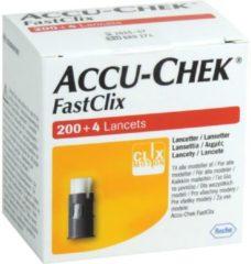 Zwarte Roche Diabetes Care Accu Chek FastClix Lancetten, 200+4 stuks